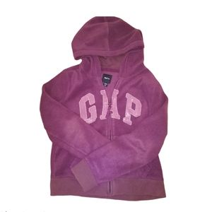 PURPLE GAP HOODIE ZIP-UP